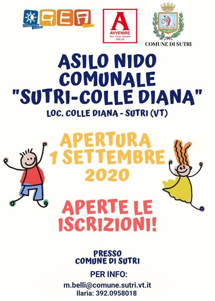 ASILO NIDO COMUNALE - ISCRIZIONI A.E. 2020/2021