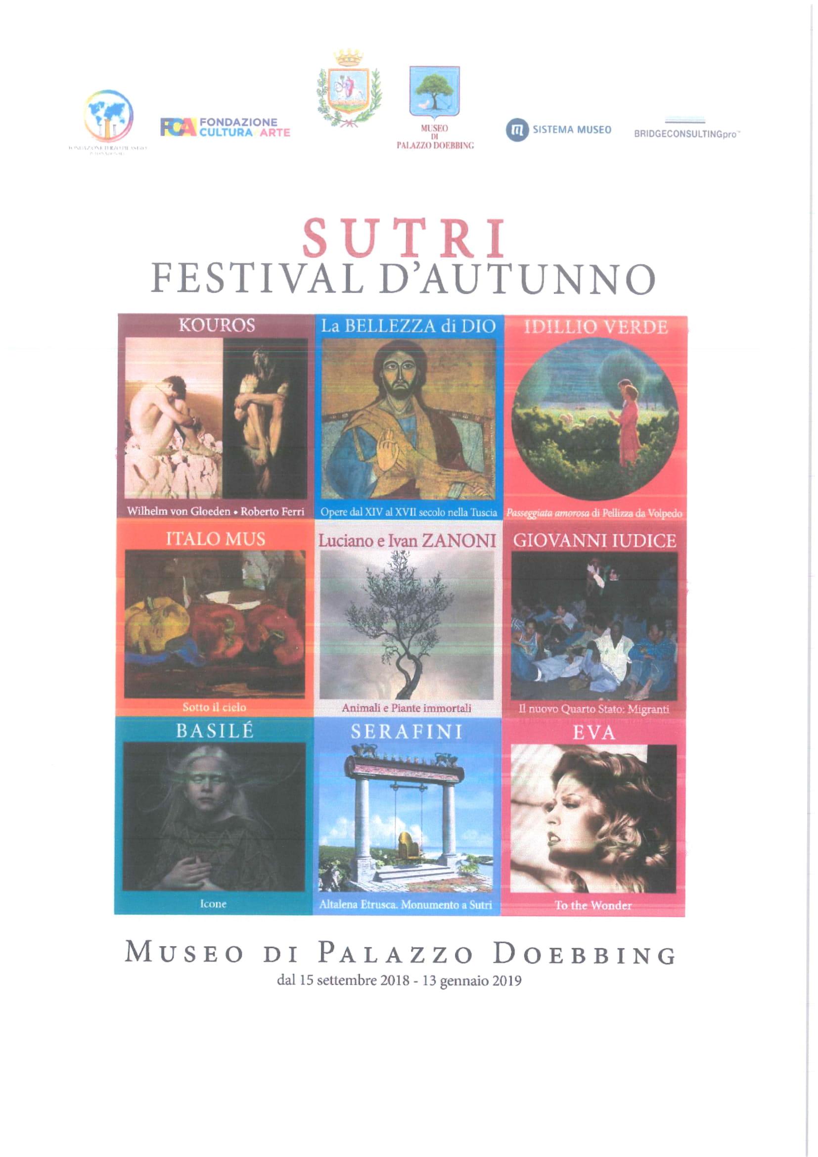 SUTRI FESTIVAL D'AUTUNNO - PROGRAMMA