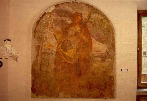 Affresco S. Fortunata XVI sec.